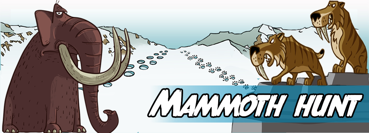 Write your own story about mammoth hunting