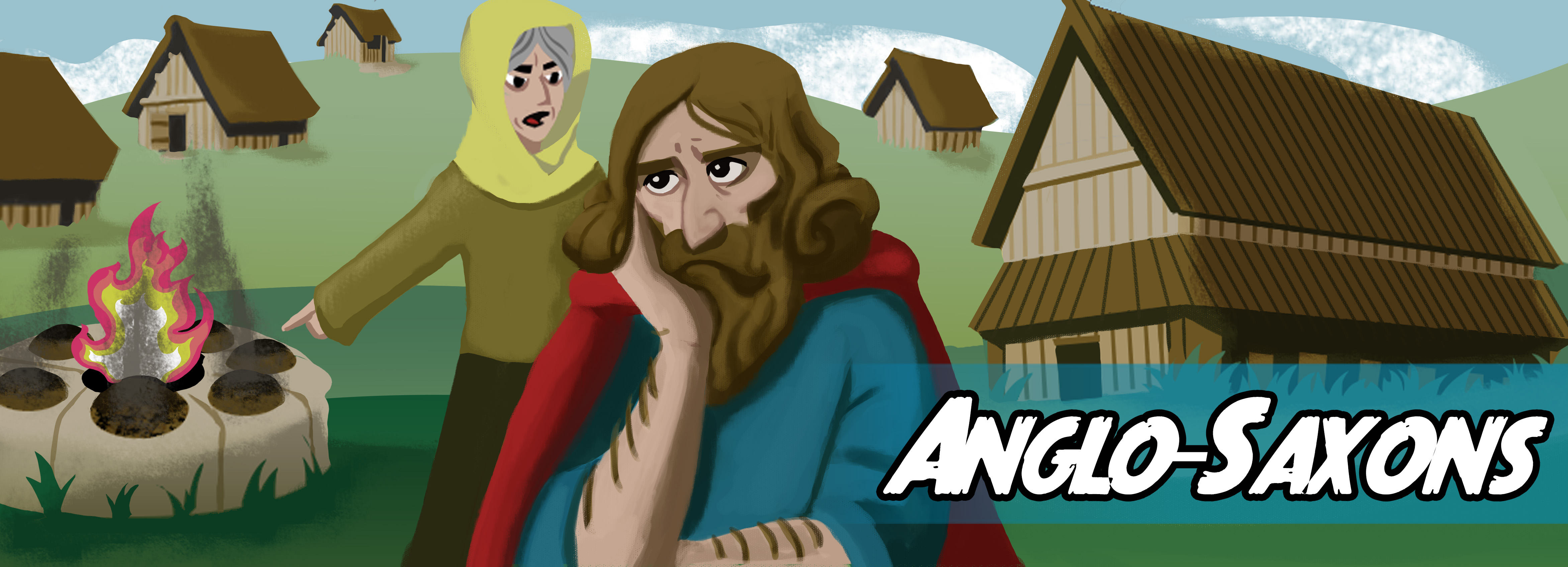Write your own story about the Anglo-Saxons