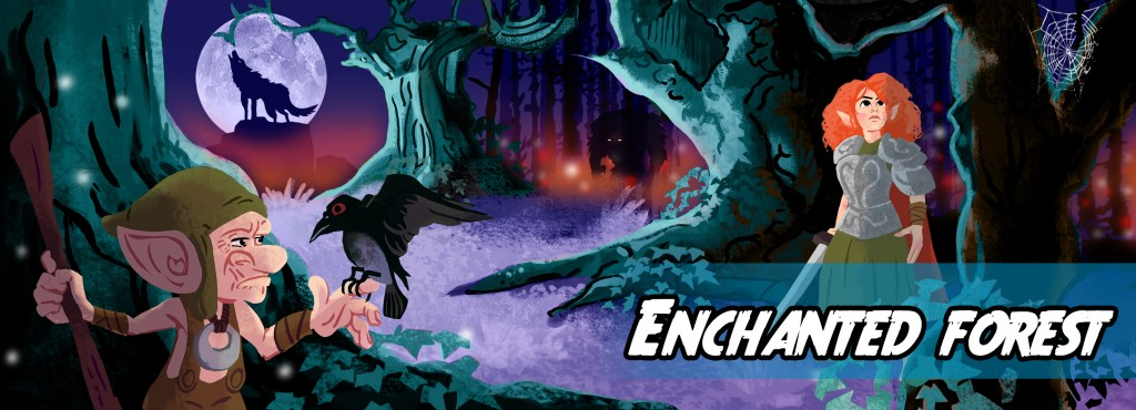 Write a story about the enchanted forest