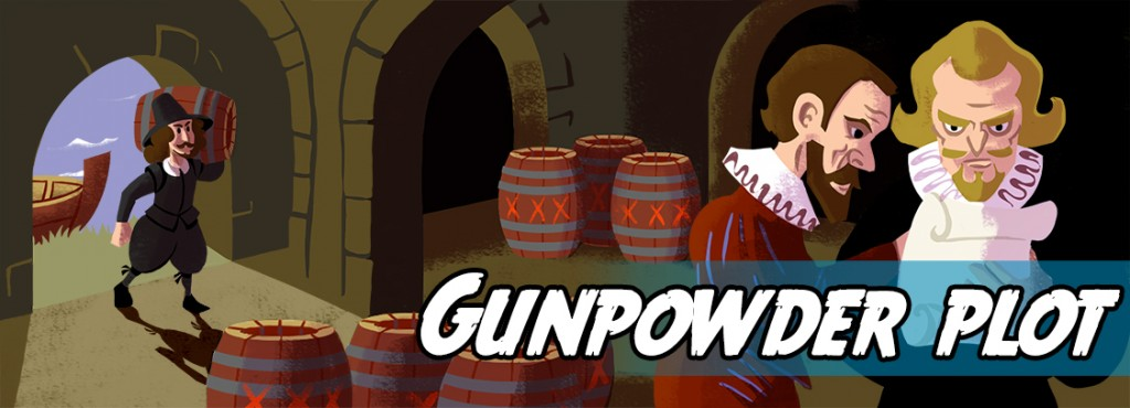 Write your own story about The Gunpowder Plot