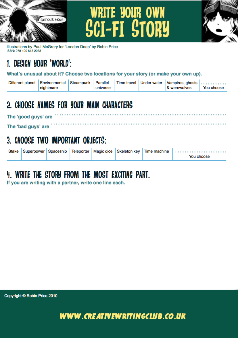 Download a sci-i printable resource