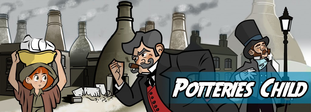 Write a story about a child working in the potteries in Victorian times