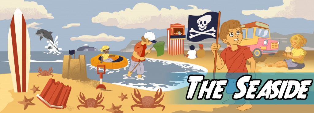 Write a story about the seaside!
