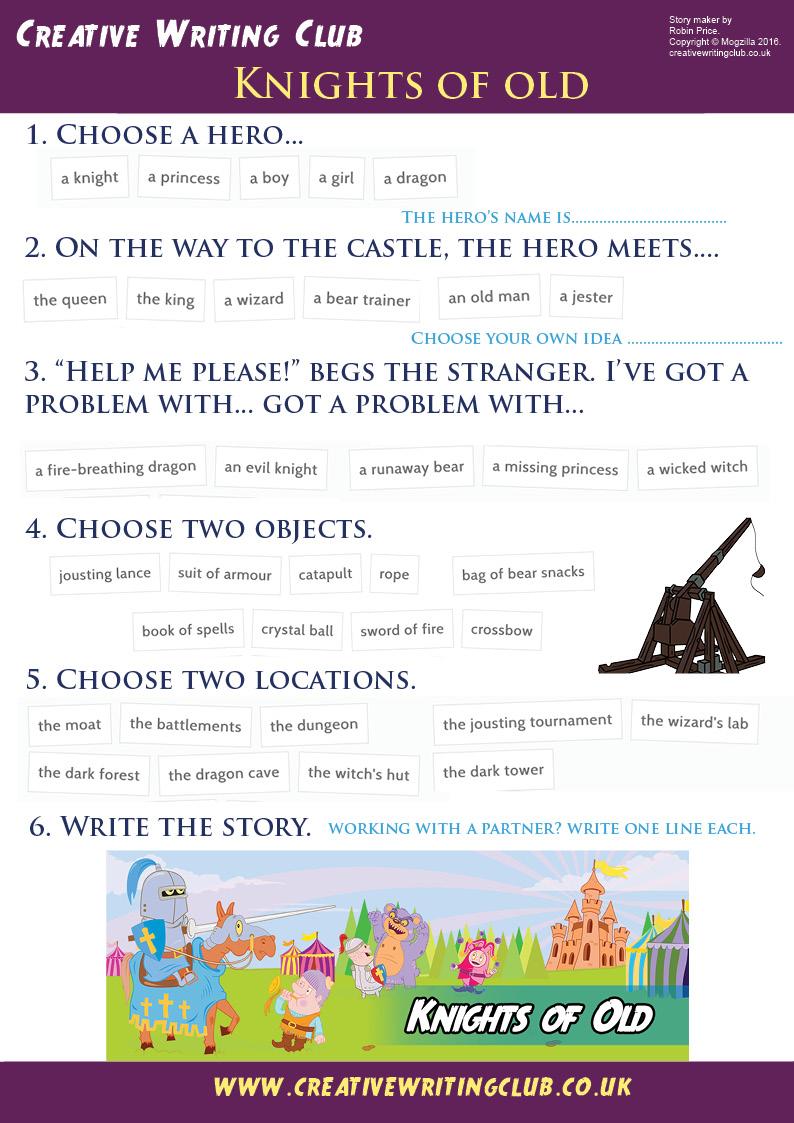 Knights storymaker
